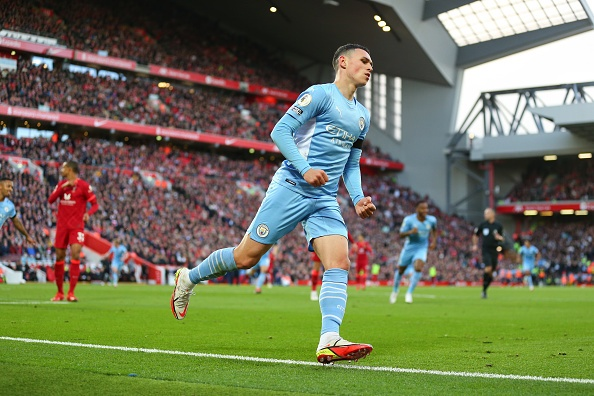 Foden praises his teammates for not giving up.